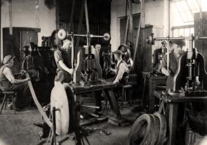 Ryc. 14 Hala warsztatowa Haszpienia (1933 r.).